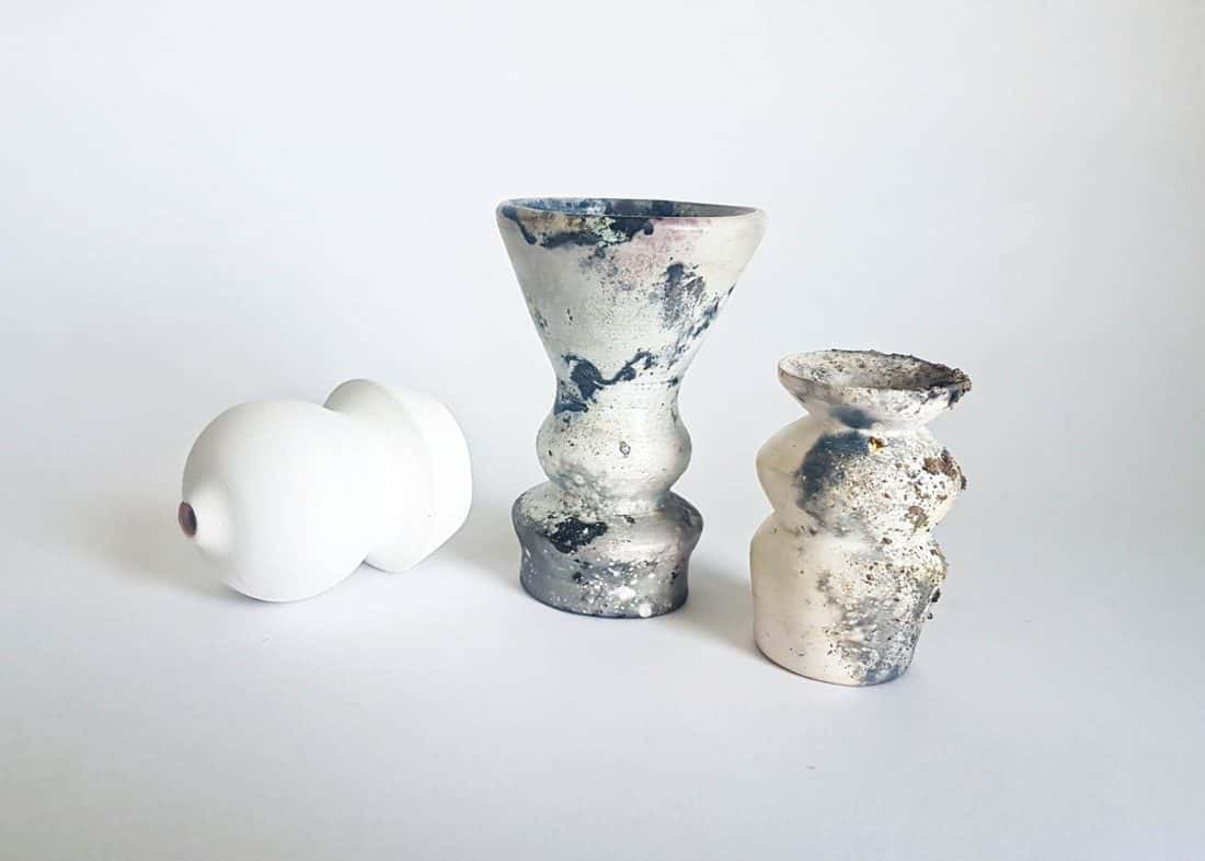 Iona Stock, Glass and Ceramics, Title. Transformation Vessels 1