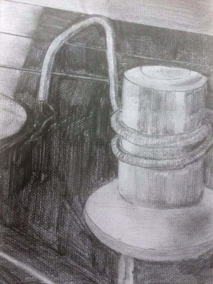David Hayes, Glass and Ceramics, Title. Machine Heads