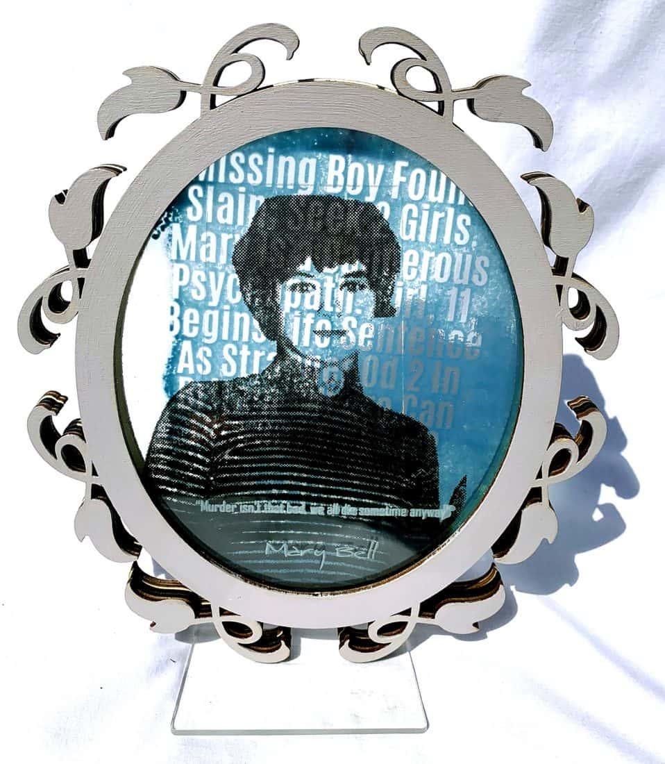 Georgia Stevie Robinson, Glass and Ceramics, Title.Faces That Kill 2019-2