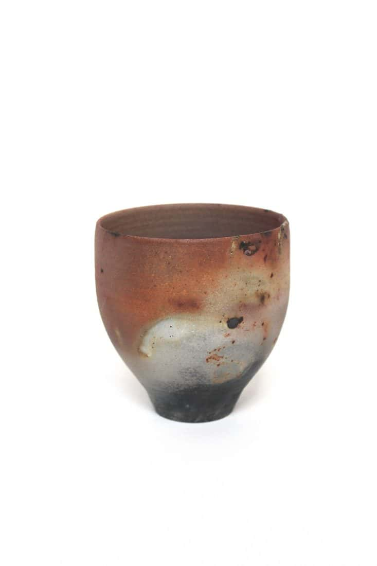 Lauren Frost, Glass and Ceramics, Title. Saggar Fired Cups 2020