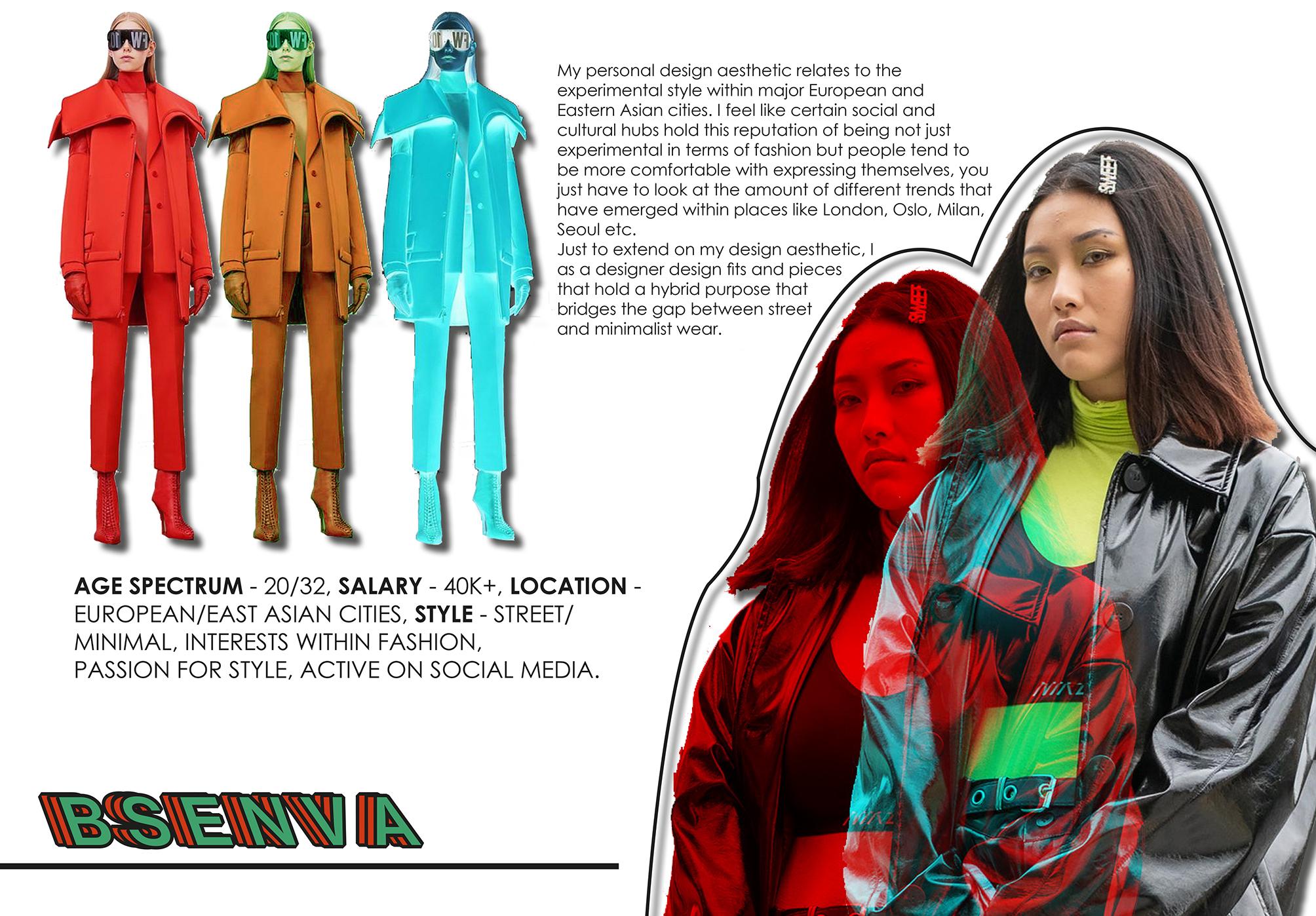 Benjamin Jacob Evans Fashion Design and Promotion