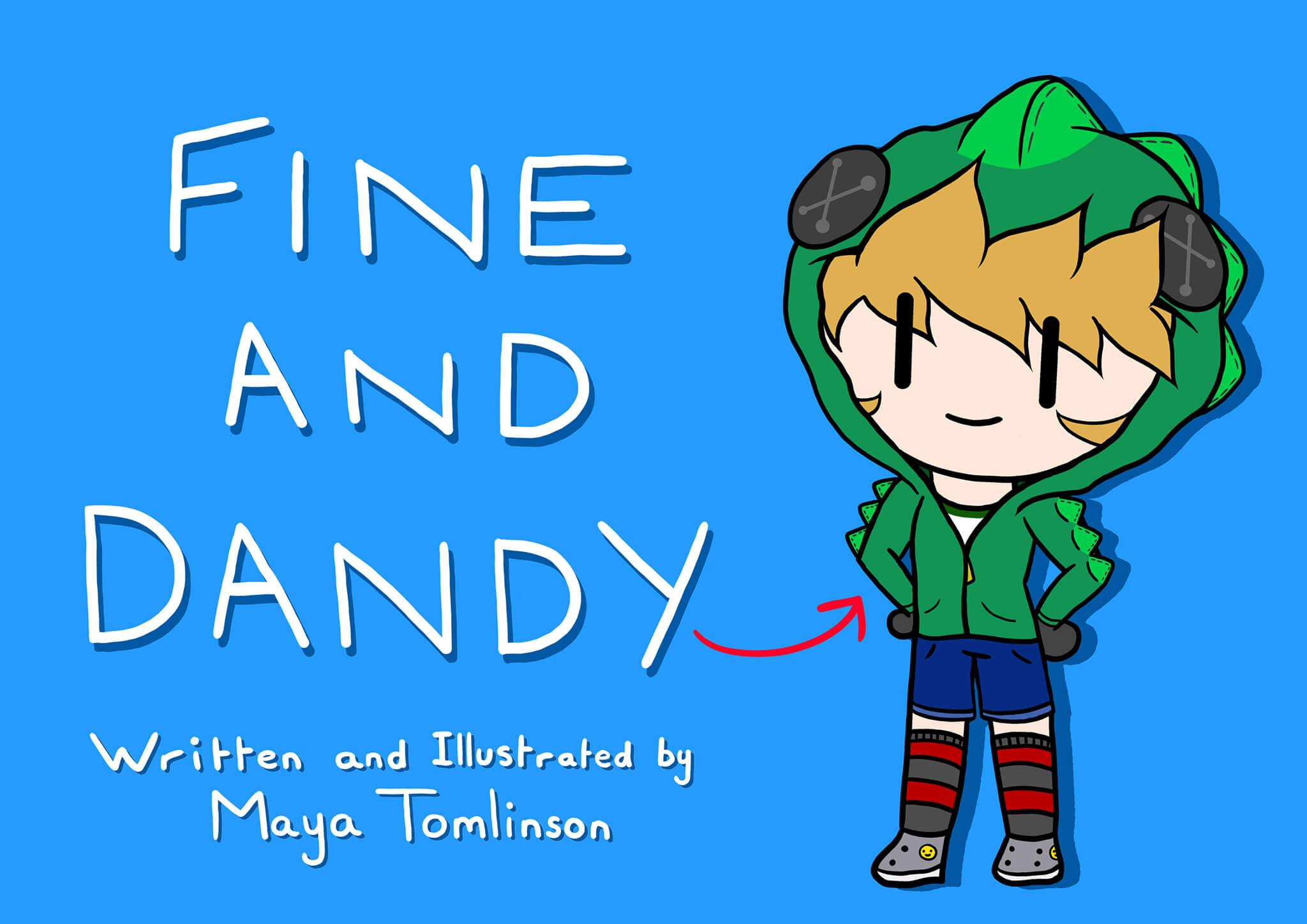 Maya_Tomlinson-Fine_and_Dandy_Cover