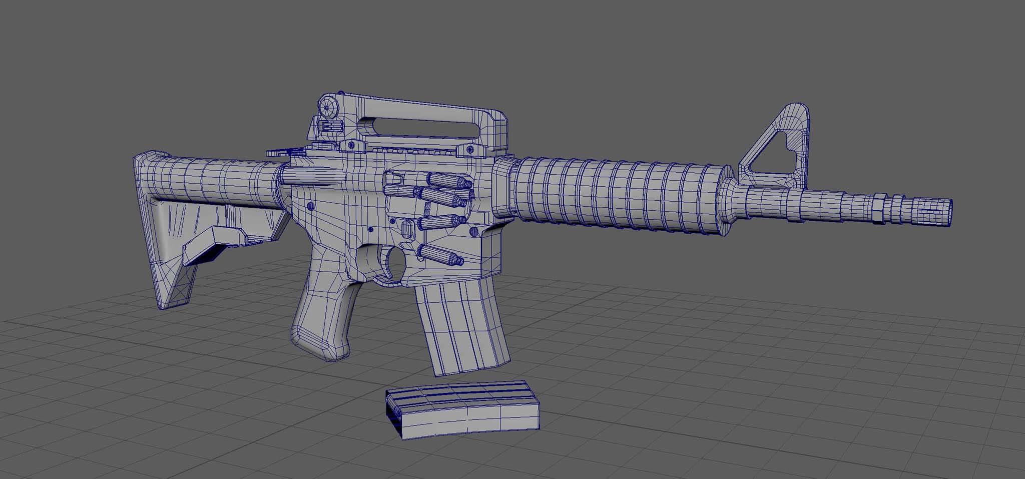 Harry_Lynam-3D_Rifle_Topology